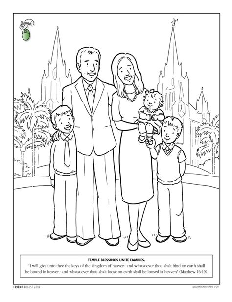Lds Friend Coloring Pages coloring page friend