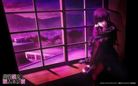 dusk maiden of amnesia forbidden forest dusk maiden of amnesia anime wallpaper