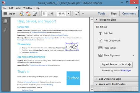 adobe reader 10 windows how to use adobe reader to electronically sign e