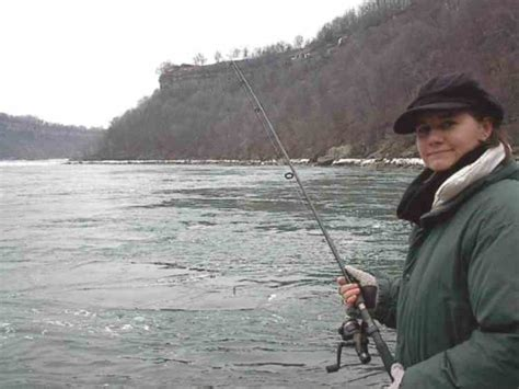 queenston public boat launch tammy frakking out fishing near the whirlpool rapids in