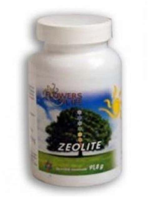 zeolite integratore alimentare zeolite 100 compresse clinoptilolite attivata flower of