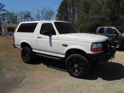 purchase used 1996 custom ford bronco in shreveport louisiana united states for us 13 995 00