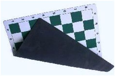 rubber st board 20 quot soft mousepad rubber chess board green white new ebay