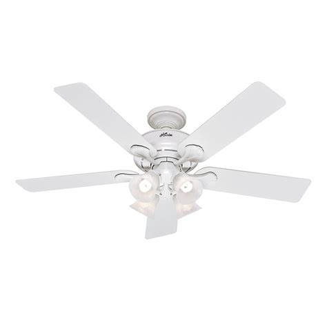 Augusta Ceiling Fan by Augusta Iii 52 In Indoor White Ceiling Fan With