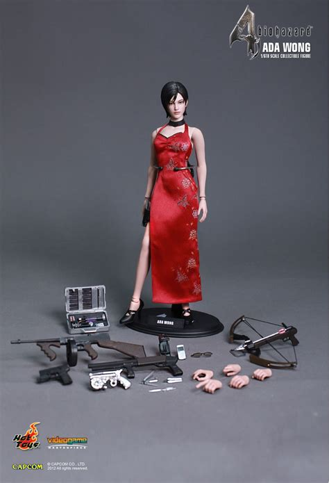 Toys Ada Wong Ceongsam Ver toys biohazard 4 hd ada wong 1 6th scale collectible figure