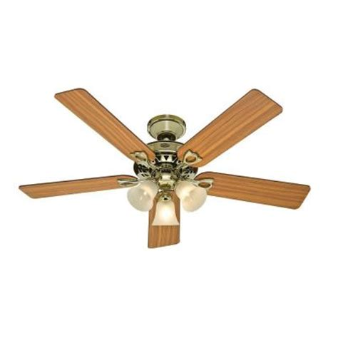 Discontinued Ceiling Fans by Sontera 52 In Bright Brass Ceiling Fan
