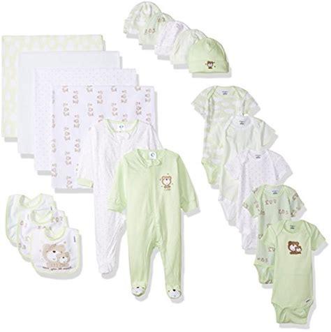 Terbatas Gerber Gift Set Fashion gerber baby unisex 19 baby essentials gift set teddy newborn baby clothing bajby