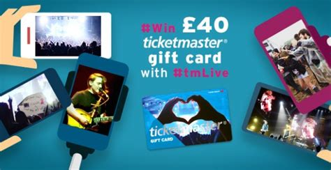 Using Ticketmaster Gift Card - win 163 40 ticketmaster gift card when you tag tmlive on instagram tmblog