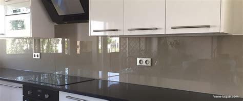 cr 233 dence en verre laqu 233 pour votre cuisine verre laque com