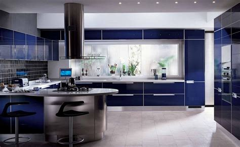 blue kitchen design 17 appealing blue kitchen designs that everyone should see