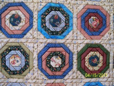 quilt pattern octagon octagon log cabin