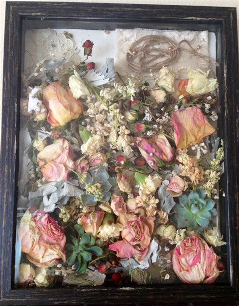 Wedding Bouquet In Shadow Box by 295 Best Images About Dried Flower Ideas On