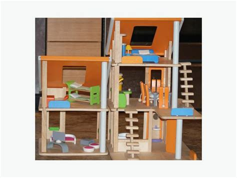 plan toys dolls house furniture plan toys chalet doll house furniture dolls playground saanich victoria