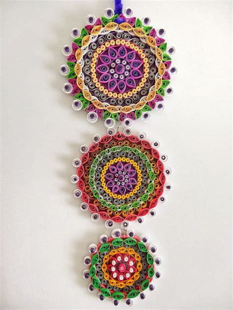 Handmade Wall Hangings Ideas - proper and pretty paper quilling ideas bored