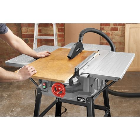 ozito bench saw ozito 250mm 2000w saw table bunnings warehouse