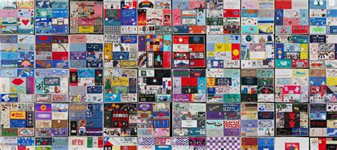 Quilting Aids by The Aids Memorial Quilt Goes In An