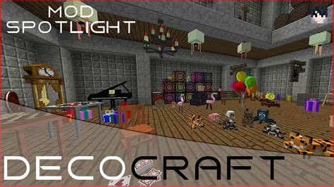 Minecraft Bedroom Furniture decocraft minecraft mod spotlight youtube