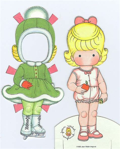 Paper Doll Crafts - 108 best joan walsh anglund images on paper