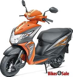 2017 honda dio vibrant orange honda dio scooter picture