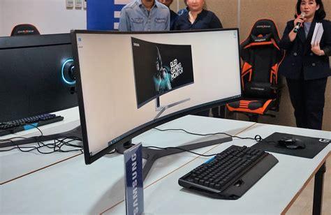 Monitor Jakarta monitor gaming samsung chg90 hadir di indonesia