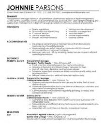 Transportation Operations Manager Sle Resume by Unforgettable Store Manager Resume Exles To Stand Out Myperfectresume