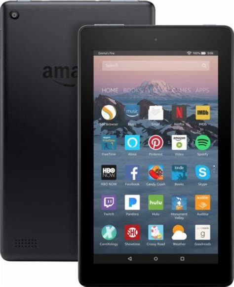amazon fire tablet amazon fire 7 quot tablet 8gb 7th generation 2017