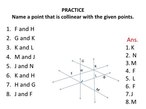 name the line and plane shown in the diagram worksheets geometry in all diagram and name opossumsoft