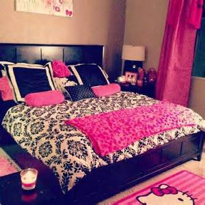 pink and black bedrooms pink black white room home ideas pinterest