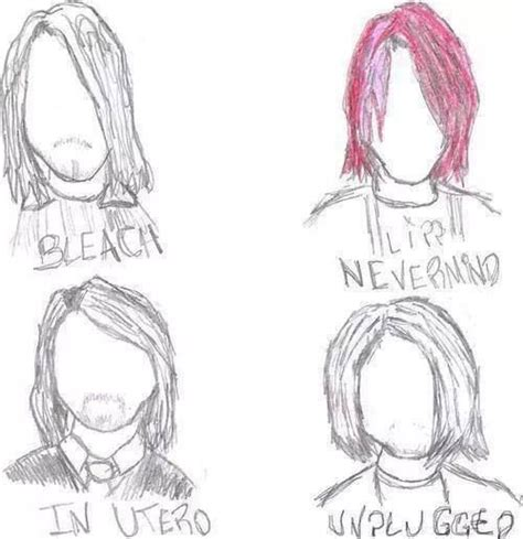 Kurt Cobain Hairstyle by The Many Hairstyles Of Kurt Cobain Kurt Cobain