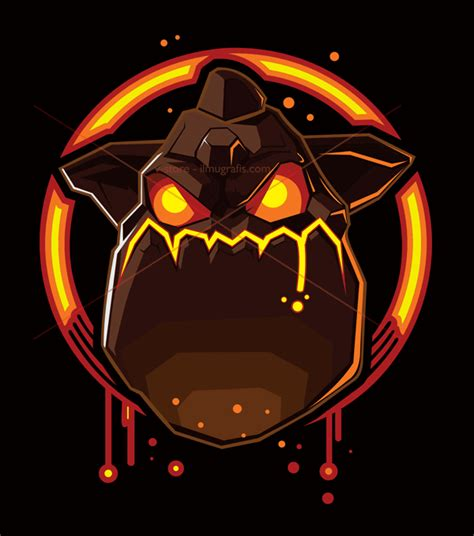 Kaos Clash Of Clan Golem By Crion the lava hound coc vector arts v store