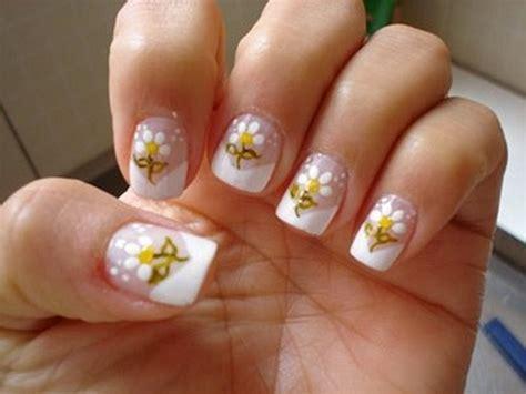 imagenes artisticas simples unhas decoradas com flores fotos como fazer