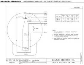 baldor motor wiring diagrams single phase wiring diagrams