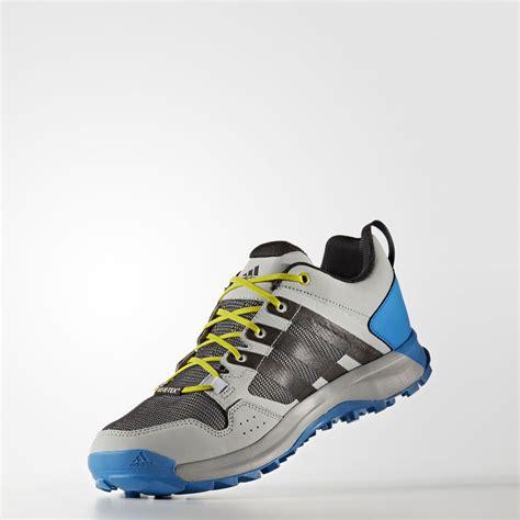 waterproof sports shoes adidas kanadia 7 tr mens grey tex waterproof trail