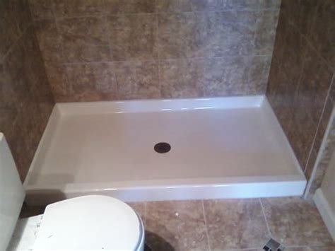 Mobile Home Shower Base by Shower Pan After Refinishing Yelp