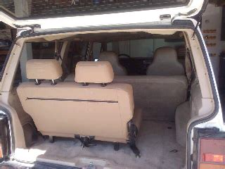 jeep grand srt8 3rd row seat ben s jeep xj third row seat
