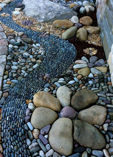 25 River Rock Garden Ideas For Beautiful Diy Designs Pebble Rock Garden Designs