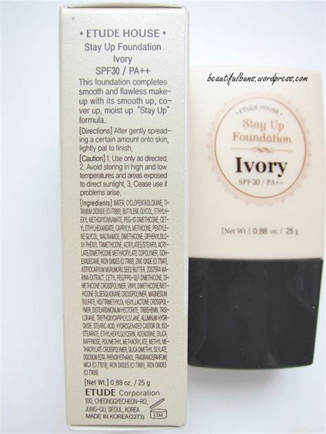 Harga Stay Up Foundation Etude House review etude house stay up foundation beautifulbuns a