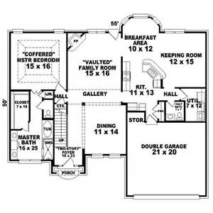 English Cottage Floor Plans Holman Way English Cottage Home Plan 087d 1591 House