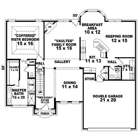 english cottage floor plans traditional english home plans