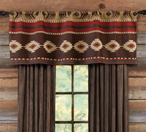 Southwest Kitchen Curtains Desert Horizon Southwest Valance