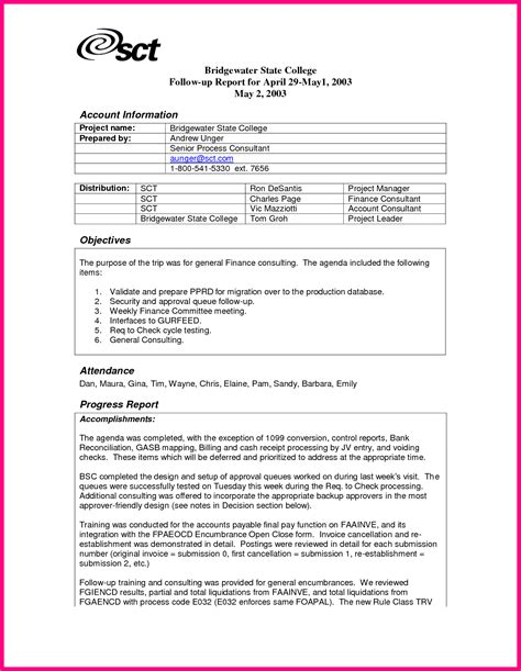 free sle of resume in word format sle of business trip report 28 images 8 sle trip