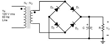 bridge diode power loss a wave bridge rectifier is to be designed to chegg