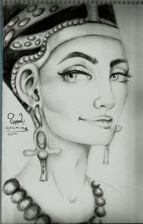 black queen tattoo nefertiti drawing tattoos