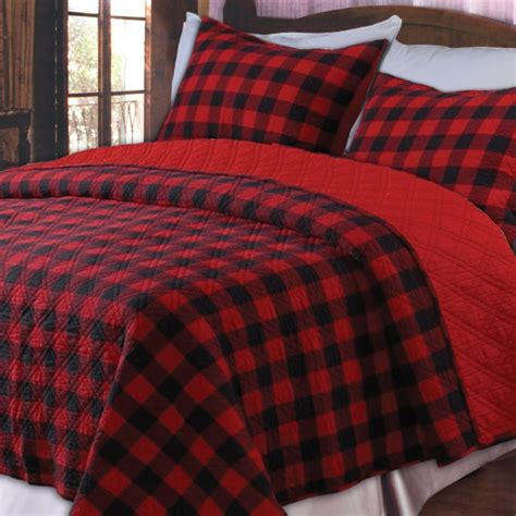 Black Plaid Comforter by And Black Plaid Bedding 1 Wall Decal