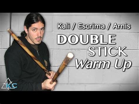 Arnis Keep Warm kali stick warm up arnis baston escrima stick drills