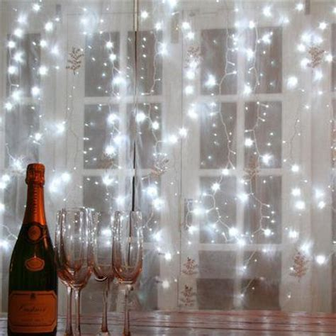 string lights behind sheer curtain romantic lovely star burst windows hang led sting lights
