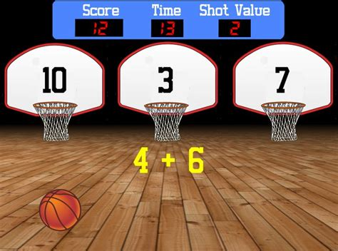 room recess here s a way for those sports fans in your classroom to practice their math facts shoot the