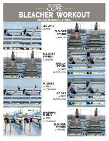 Abs Workout On Bench Core Bleacher Workout Jar Of Lemons