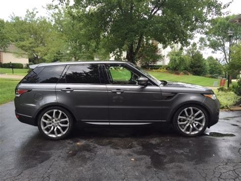 2016 range rover sport se 3rd row seating 22 quot wheels