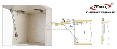 kitchen cabinet hydraulic hinge 2x 100n hydraulic gas strut lift support kitchen cabinet